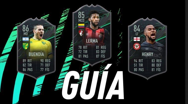 Imagen de FIFA 21: guía para conseguir las tres nuevas cartas gratuitas de la EFL (Buendía, Lerma y Henry)