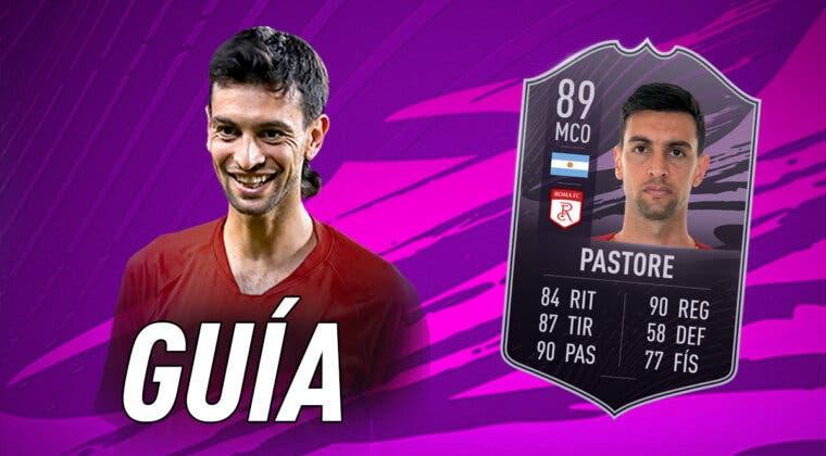 Imagen de FIFA 21: guía para conseguir a Javier Pastore Jugador de Liga