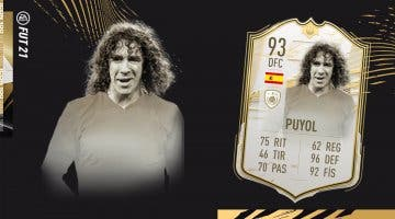 Imagen de FIFA 21 Icono SBC: ¿Merece la pena Puyol Moments? ¿Es un central de primer nivel?