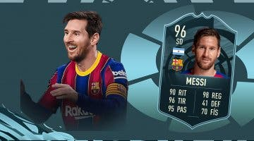 Imagen de FIFA 21: ¿Merece la pena Leo Messi POTM de la Liga Santander? + Solución del SBC