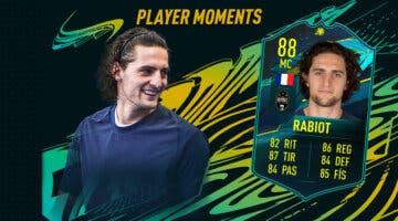 Imagen de FIFA 21: ¿Merece la pena Rabiot Moments? + Solución del SBC
