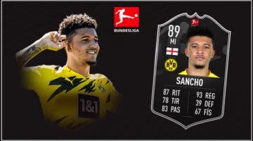 Imagen de FIFA 21: ¿Merece la pena Sancho POTM de la Bundesliga? + Solución del SBC
