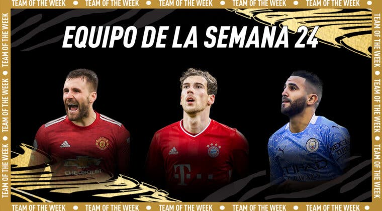 Imagen de FIFA 21: el TOTW 24 estará liderado por Goretzka, Mahrez y Shaw + Singh Estrella de Plata free to play