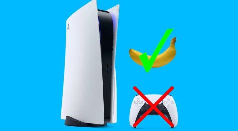 Imagen de Un plátano como mando de PS5; así es la alocada patente de Sony