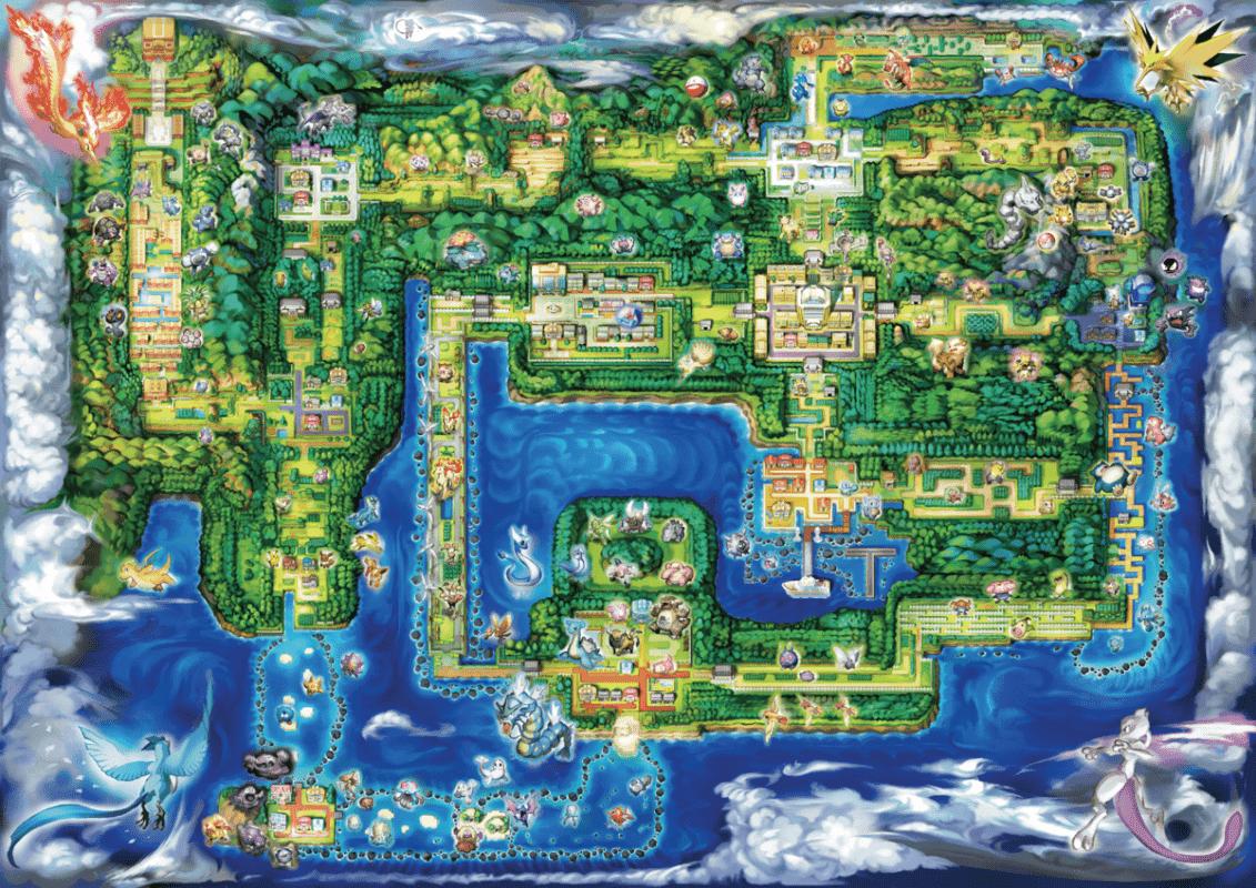 Region Kanto Pokemon