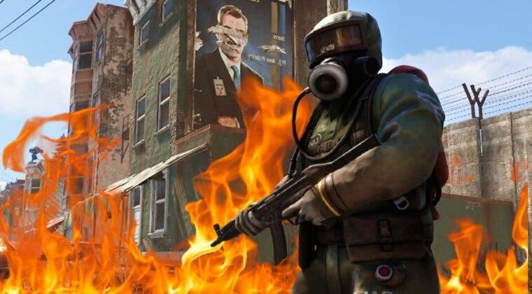 """Imagen de Desastre en Rust; se incendian sus servidores europeos y """"los datos no podrán ser recuperados"""""""