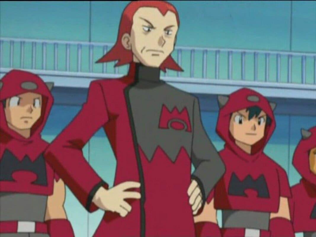 Team Magma anime de Pokemon