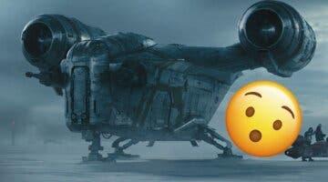 Imagen de Así es la espectacular réplica de la nave de The Mandalorian a escala real hecha por un fan