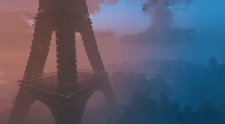 Imagen de Valheim: Un usuario construye la Torre Eiffel utilizando 40.000 bloques y este es el increíble resultado
