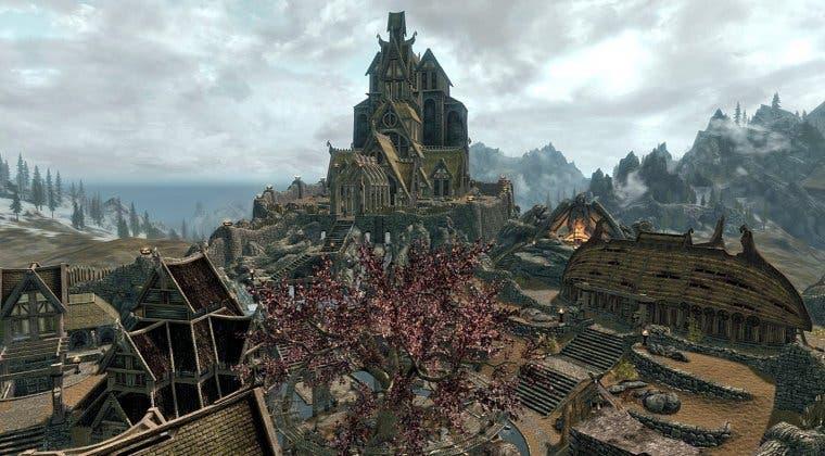 Imagen de La comunidad de Valheim se ha reunido para recrear Carrera Blanca de Skyrim