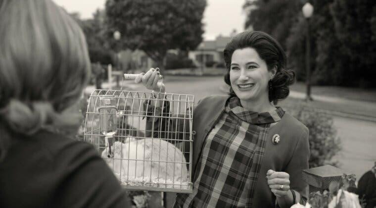 Imagen de Bruja Escarlata y Visión: una escena eliminada mostraba que el conejo de Agatha era un demonio