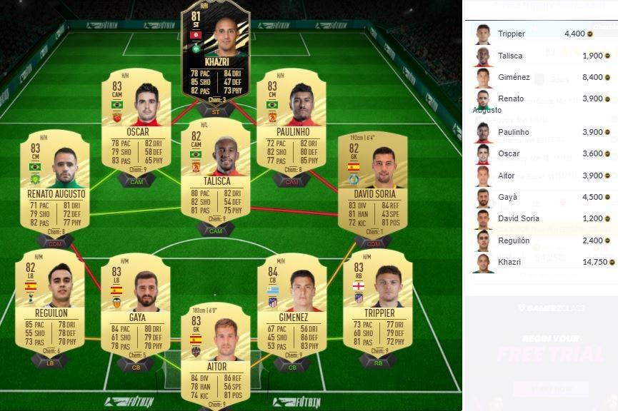 FIFA 21 Ultimate Team SBC Lo Celso Showdown