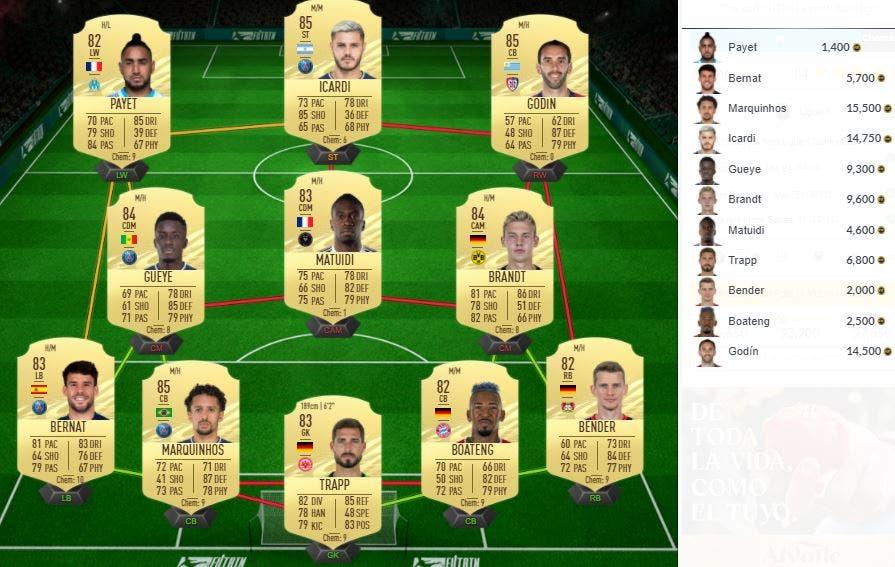 FIFA 21 Ultimate Team SBC Keylor Navas POTM Ligue 1 Marzo