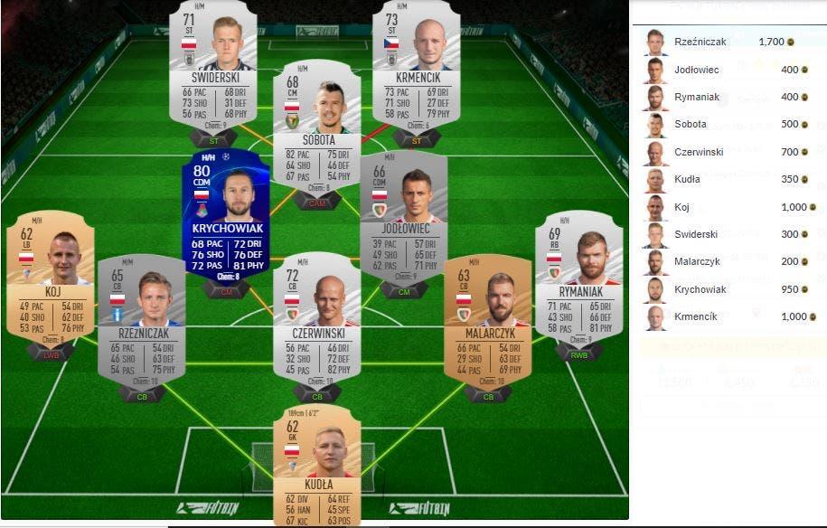 FIFA 21 Ultimate Team SBC EFL Championship TOTS UCL