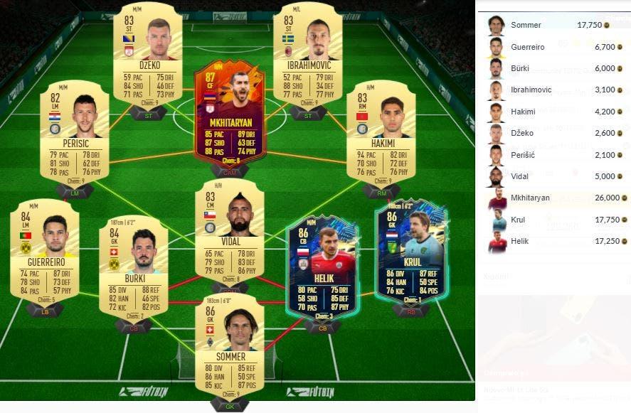 FIFA 21 Ultimate Team TOTS Comunidad