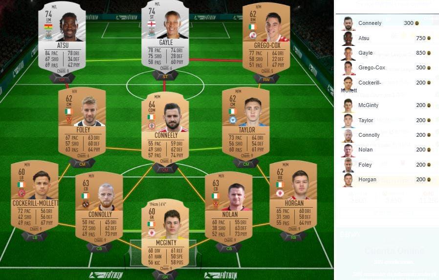 Desafío de la Premier League SBC de FIFA 21 Ultimate Team