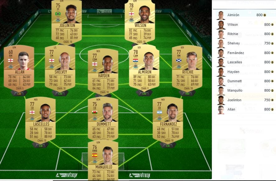 FIFA 21 Ultimate Team SBC Baratos FUT Birthday