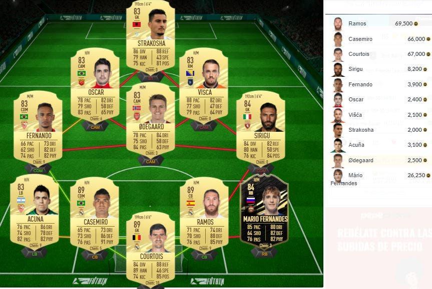 FIFA 21 Ultimate Team SBC Bailly FUT Birthday