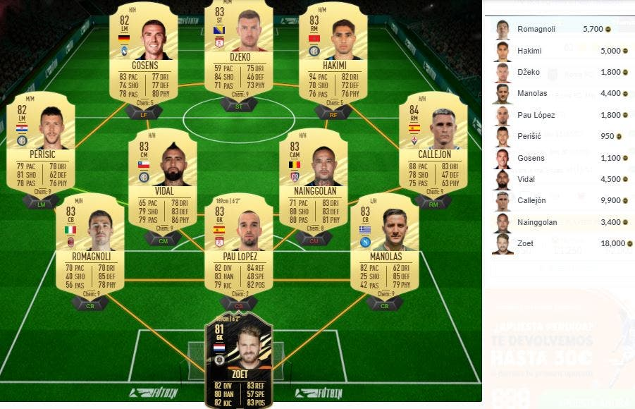 FIFA 21 Ultimate Team SBC Dzeko Showdown