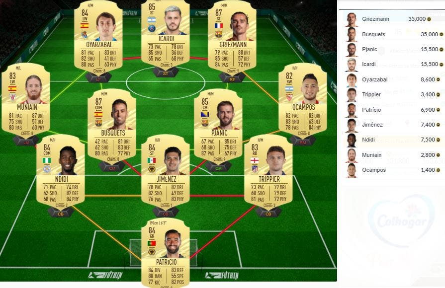 FIFA 21 Ultimate Team SBC Saúl Moments
