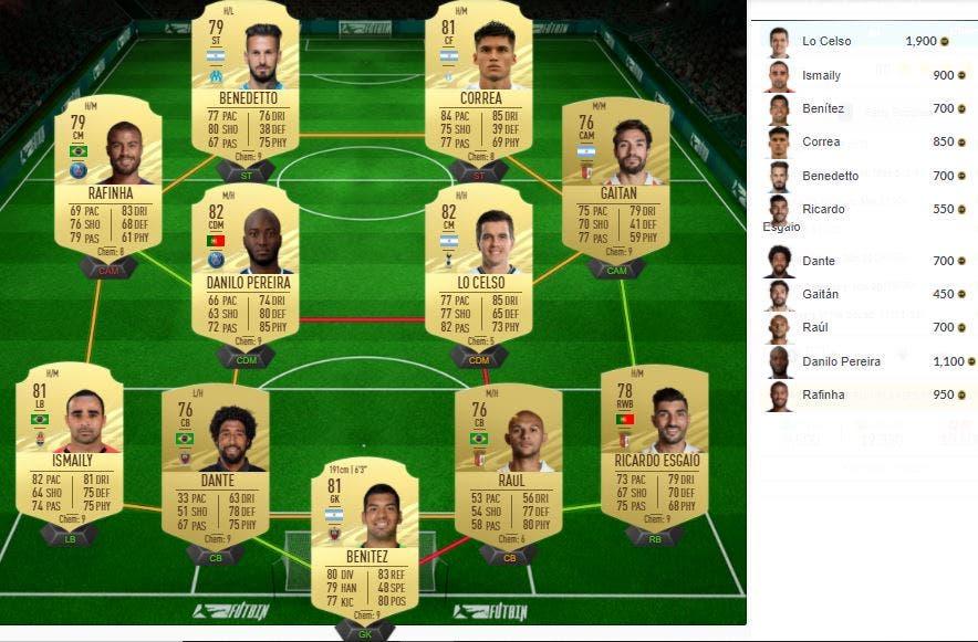FIFA 21 Ultimate Team SBC FUT Birthday Party Bag