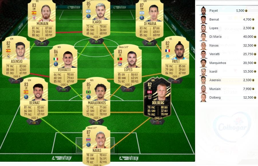 FIFA 21 Ultimate Team SBC FUT Player Days