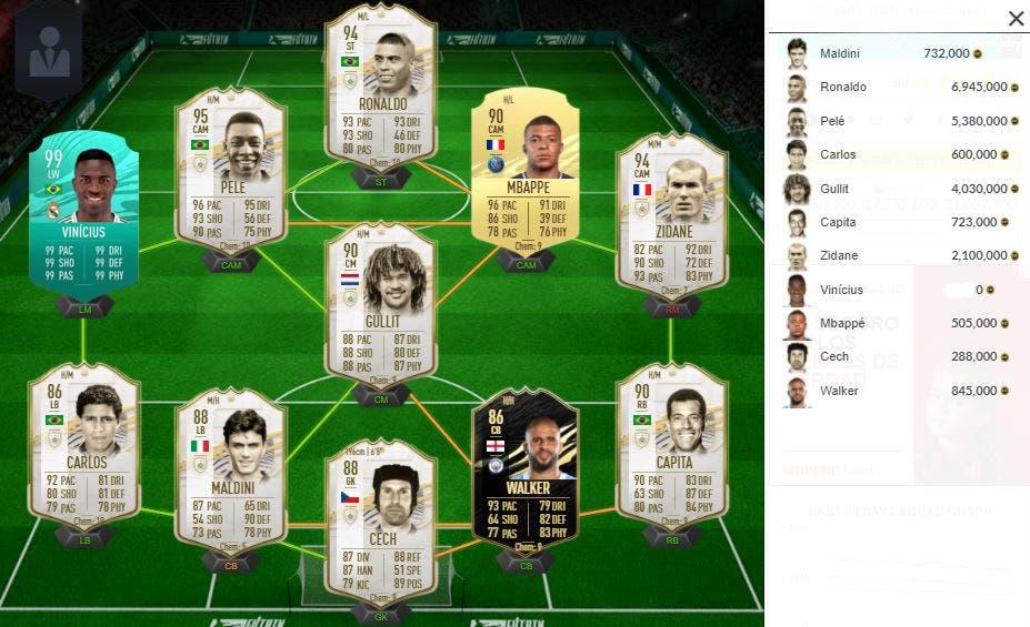 FIFA 21 Ultimate Team Equipos Futbolistas parte 1