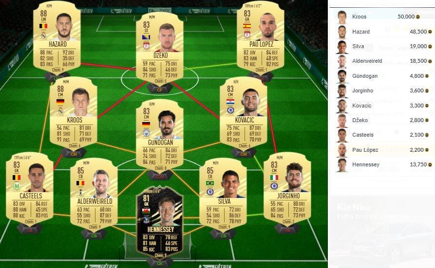 FIFA 21 Ultimate Team SBC Iheanacho POTM Marzo Premier League