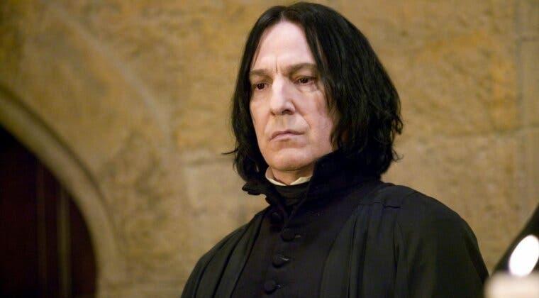 Imagen de Matthew Lewis desvela su última charla con Alan Rickman en el set de Harry Potter
