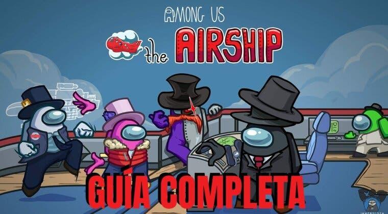 Imagen de Guía completa del nuevo mapa The Airship de Among Us: rejillas de ventilación, sabotajes, consejos y más