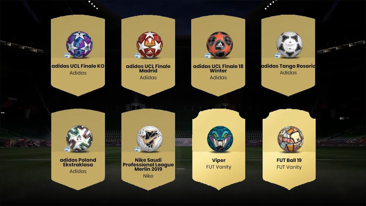FIFA 21 Ultimate Team Balones