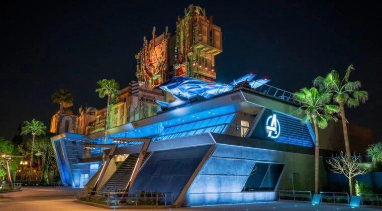 Imagen de Así es el Campus Vengadores, la nueva zona Marvel de Disney California Adventure