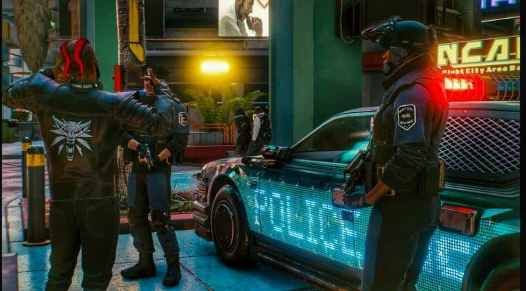 Imagen de La nueva actualización de Cyberpunk 2077 modifica la policía... y provoca las mofas de la comunidad
