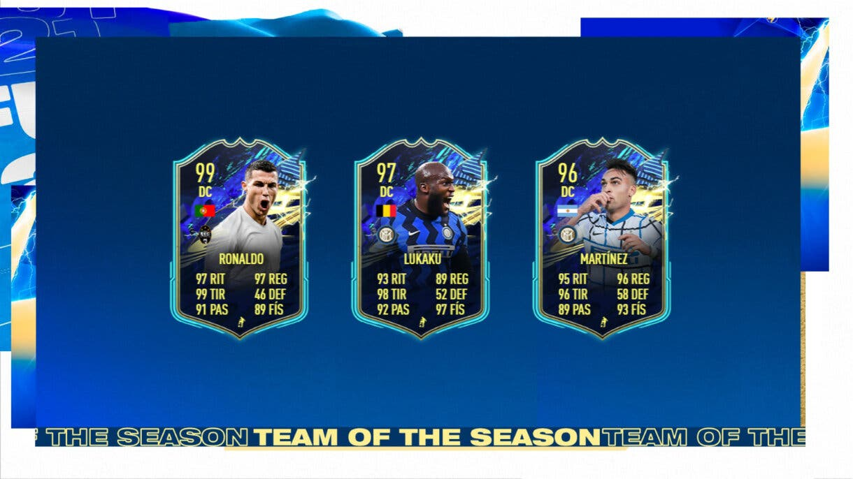 FIFA 21 Ultimate Team Serie A TOTS