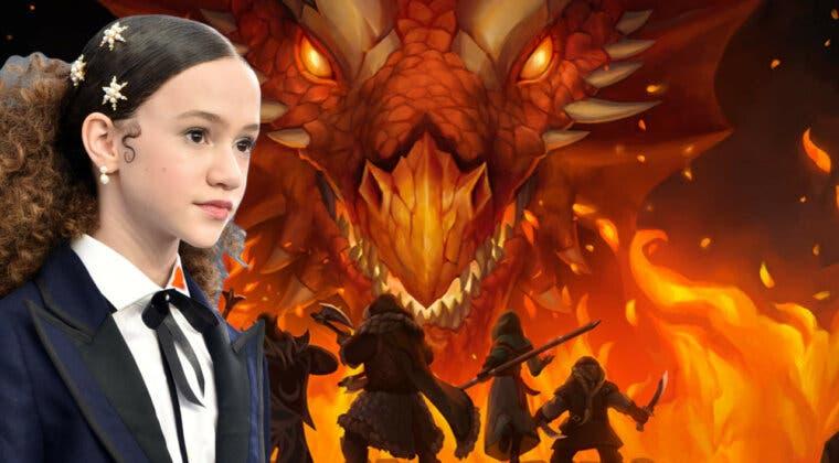 Imagen de Chloe Coleman se incorpora al reparto de la película Dragones y Mazmorras