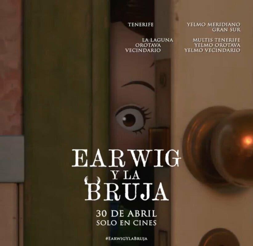 Earwig y la Bruja cines estreno 4