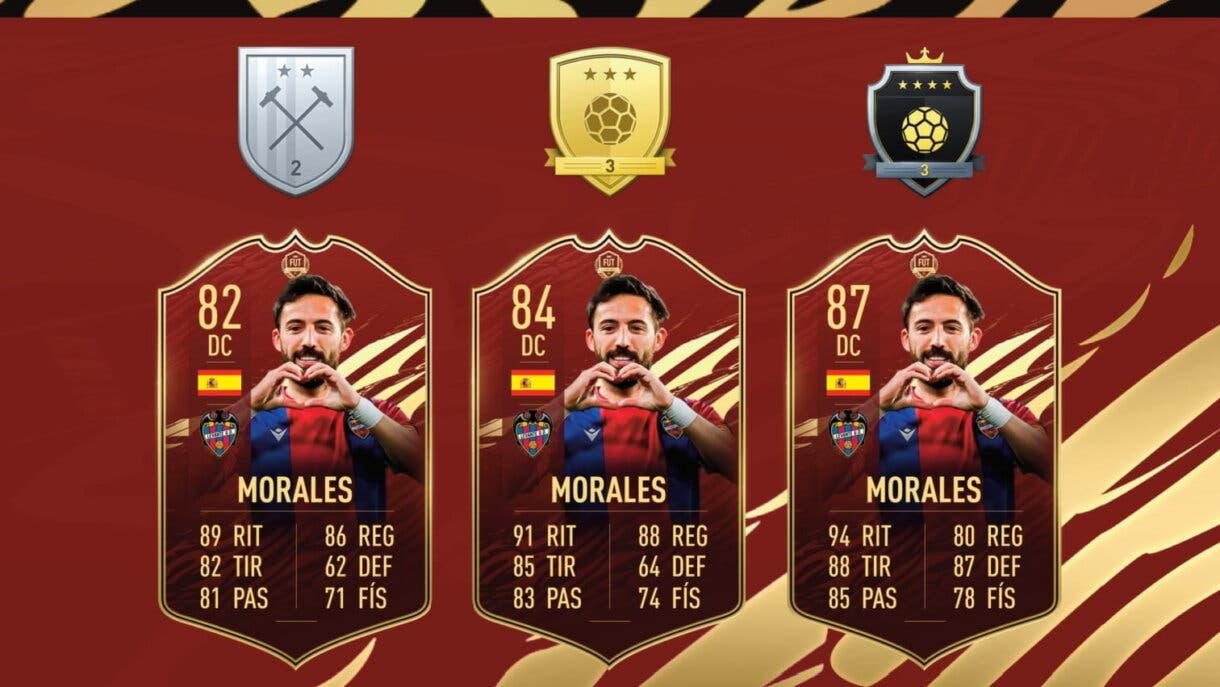 FIFA 22 Ultimate Team filtración cambios en FUT Champions. Ejemplos recompensas por nivel