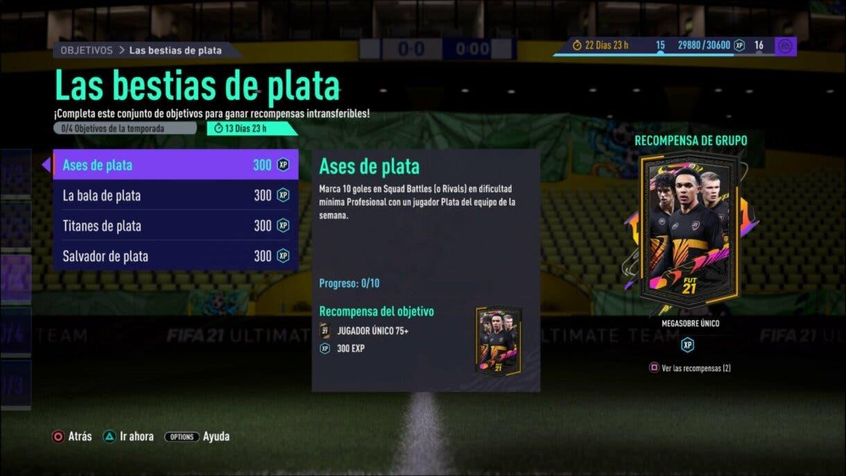 FIFA 21 Ultimate Team Bestias de plata sobre gratuito