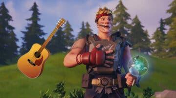 Imagen de Un fan de Fortnite logra convertir una guitarra en un mando para jugar al battle royale