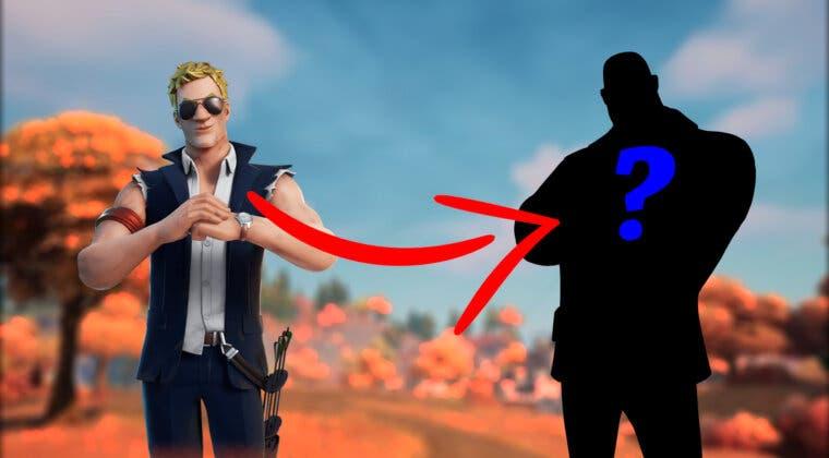 Imagen de Un nuevo bug de Fortnite fusiona la skin del Agente Jones con otra conocida y el resultado es increíble
