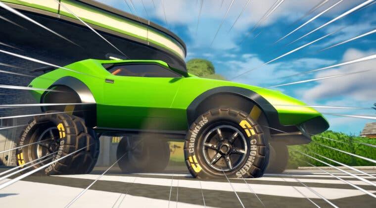 Imagen de Los todoterrenos llegan a Fortnite gracias a un nuevo tipo de rueda para los coches