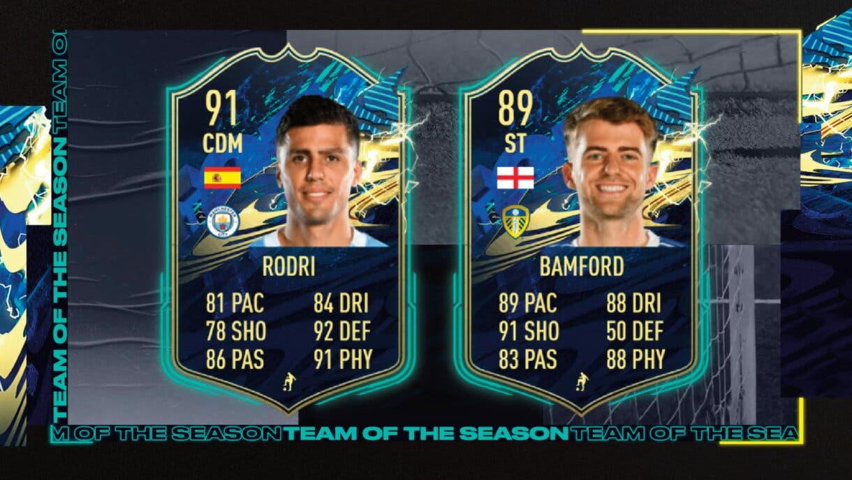 FIFA 21 Ultimate Team TOTS Premier League cartas gratuitas