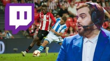 Imagen de El fútbol en vivo llega a Twitch a través del canal de Ibai; así podrás ver el Ath. Bilbao - Real Sociedad
