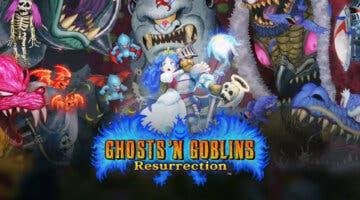 Imagen de Ghosts 'n Goblins Resurrection confirma su fecha de lanzamiento con un tráiler