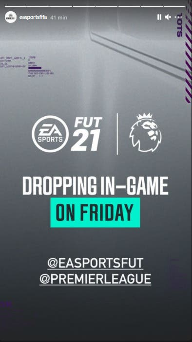 FIFA 21 Ultimate Team EA Sports historia TOTS de la Premier League Equipo de la Temporada