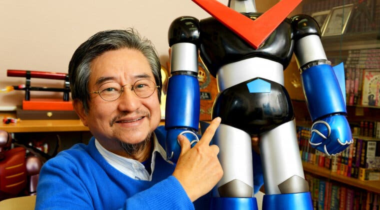 Imagen de Go Nagai, creador de Devilman y Mazinger Z, empezará un nuevo manga a sus 75 años
