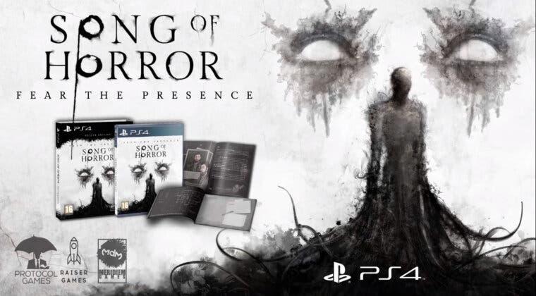 Imagen de Así es la edición física deluxe de Song of Horror, anunciada por Meridiem Games