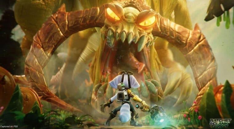 Imagen de Tres increíbles detalles de Ratchet & Clank: Una Dimensión Aparte que demuestran el potencial gráfico de PS5