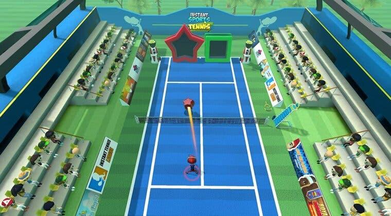 Imagen de El tenis más alocado llegará en mayo a Switch con Instant Sports Tennis