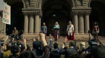 Imagen de Jupiter´s Legacy, la nueva serie de superhéroes de Netflix, se luce en su brutal primer tráiler